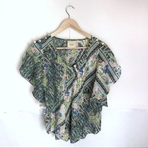 Maeve Anthropologie Patterned Top